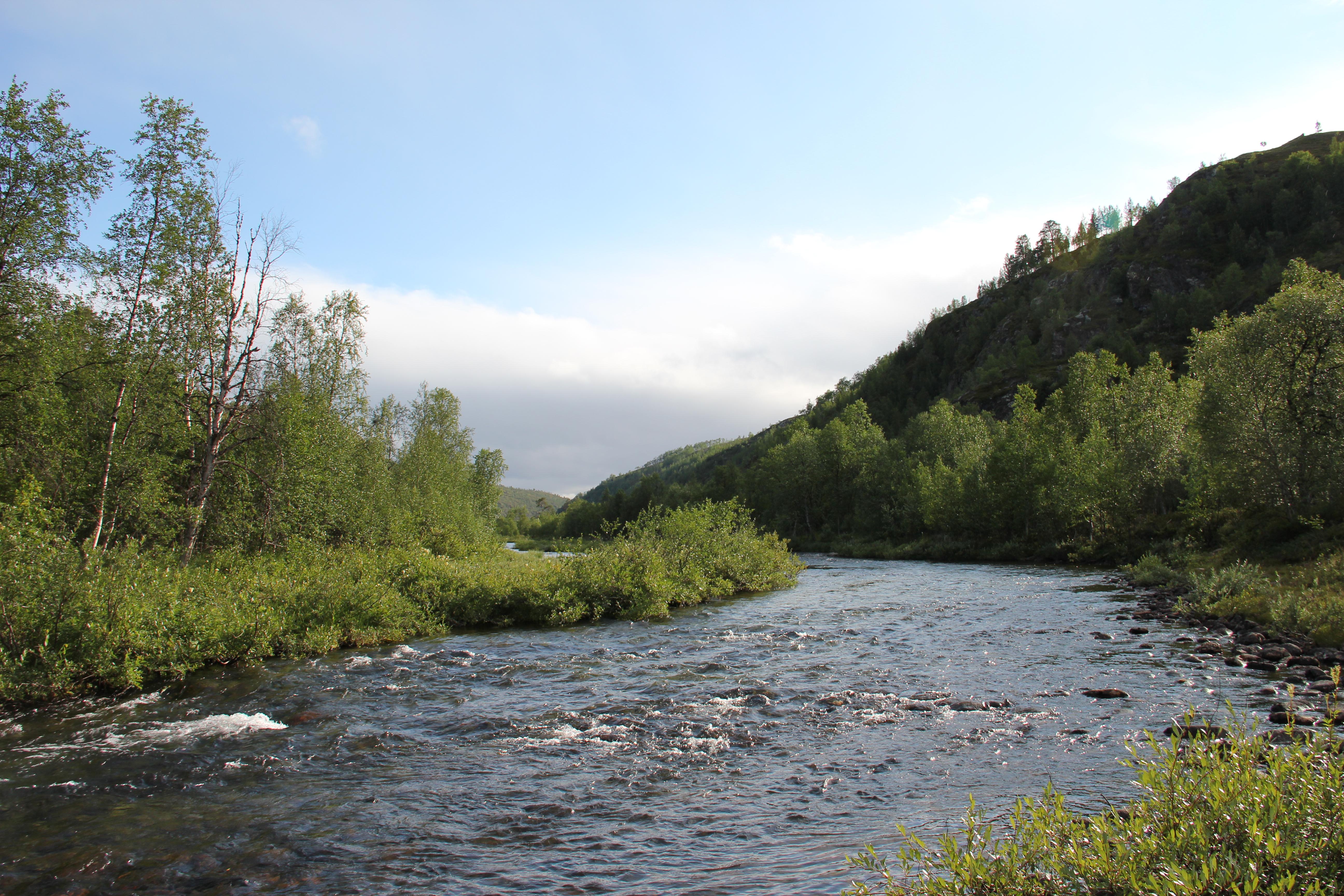 Kevon Kanjoni Kahdella Tavalla Utsjoki Retkipaikka