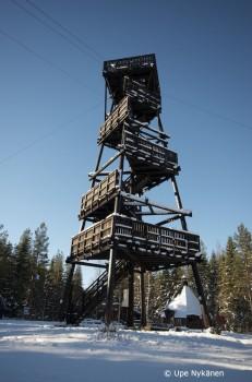 Kiiskilänmäen näkötorni, Multia