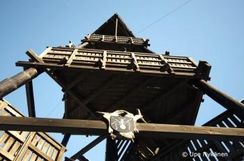 Kiiskilänmäen torni alhaalta