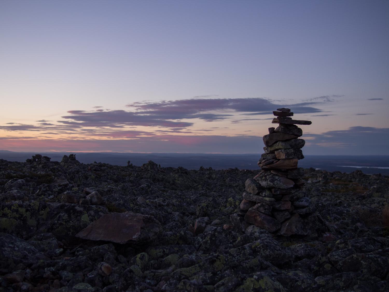 Tunturisusi 2014 Huippupolun Iltakavely Levitunturin Laella