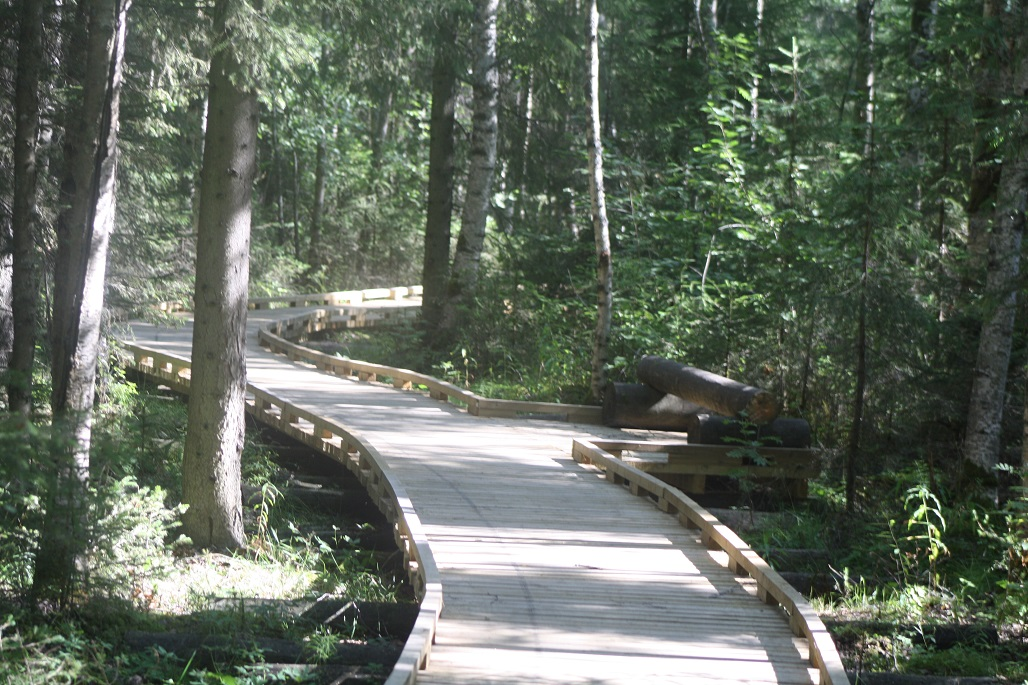 Pohjoispään reitti soveltuu liikuntarajoitteisille