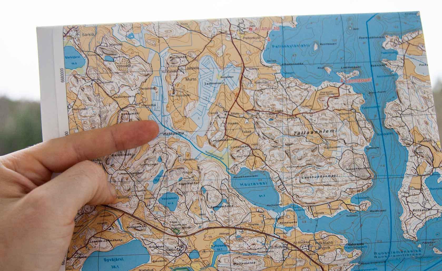 Lohjanjarven Vesiretkeilykartta Retkipaikka