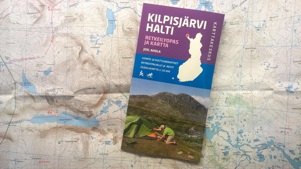 Arviossa Kilpisjarvi Halti Retkeilyopas Ja Kartta Retkipaikka