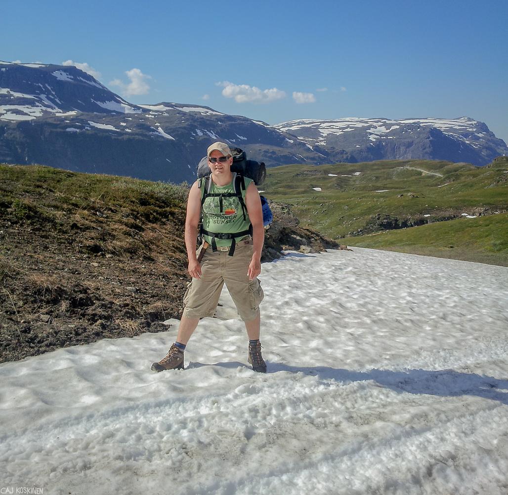 Haltin Huiputus Norjan Puolelta Retkipaikka