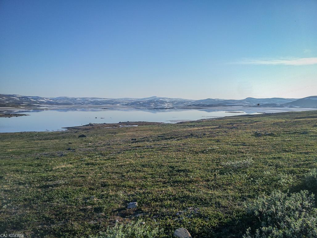 Guolasjärvi oli sulanut selkeästi todella nopeassa ajassa.