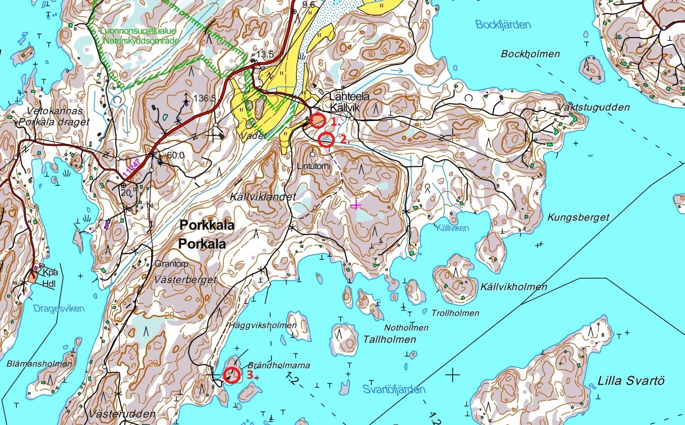 Lahteela Porkkala Retkipaikka