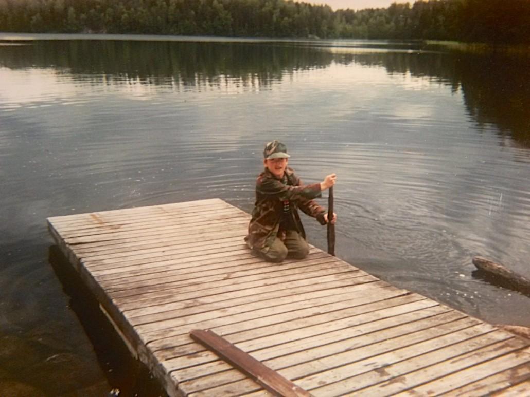 Pikku-Timppa Nuuksion Kattilajärvellä.