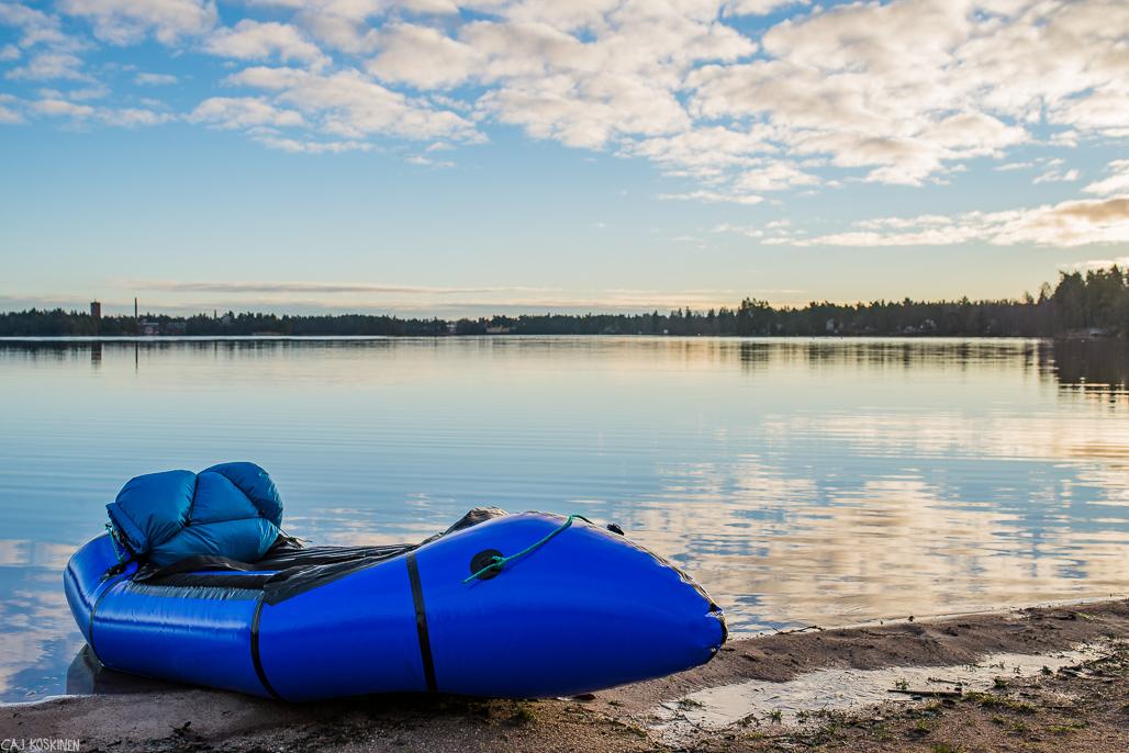 Littoistenjärven hiekkaranta on oiva lähtöpaikka aloittelijalle.