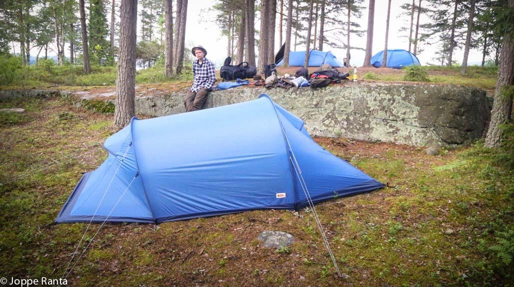 Vaellusteltta Fjällräven Abisko Lite 3 | Kuinoma