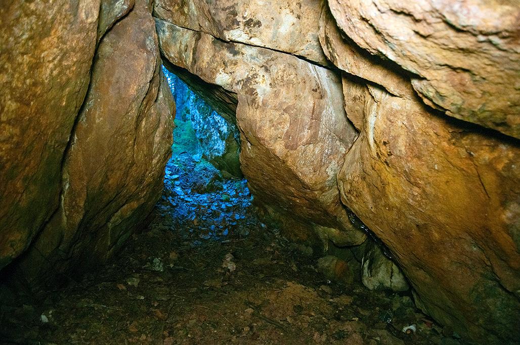 Sisällä luolassa
