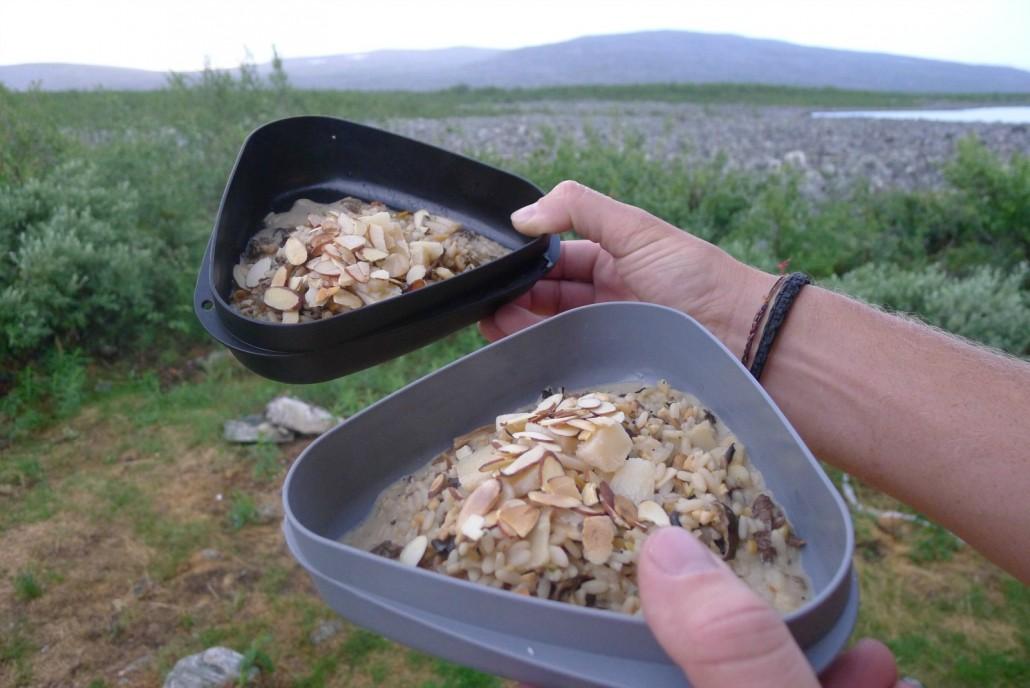 Sienirisoton resepti löytyy täältä.