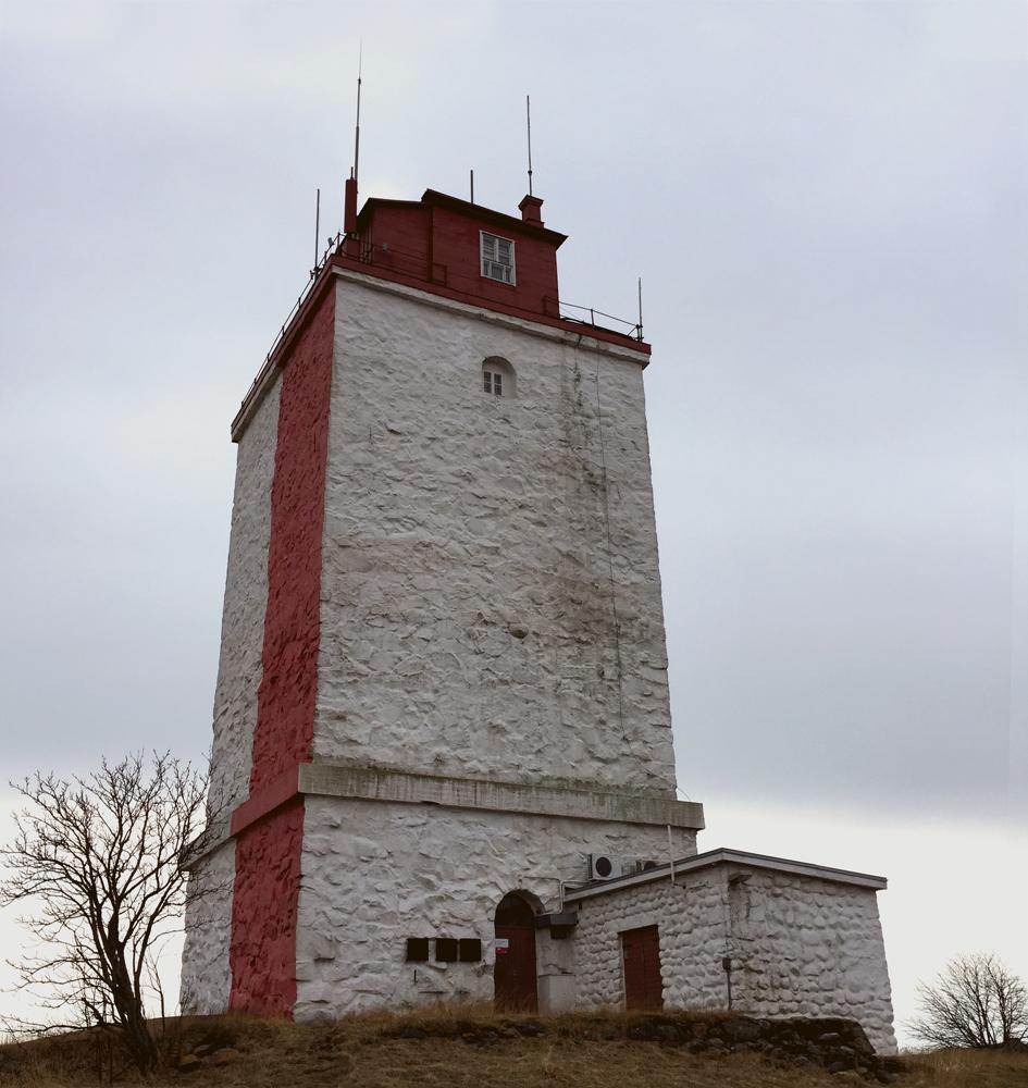 Utön majakka on rakennettu vuonna 1814.