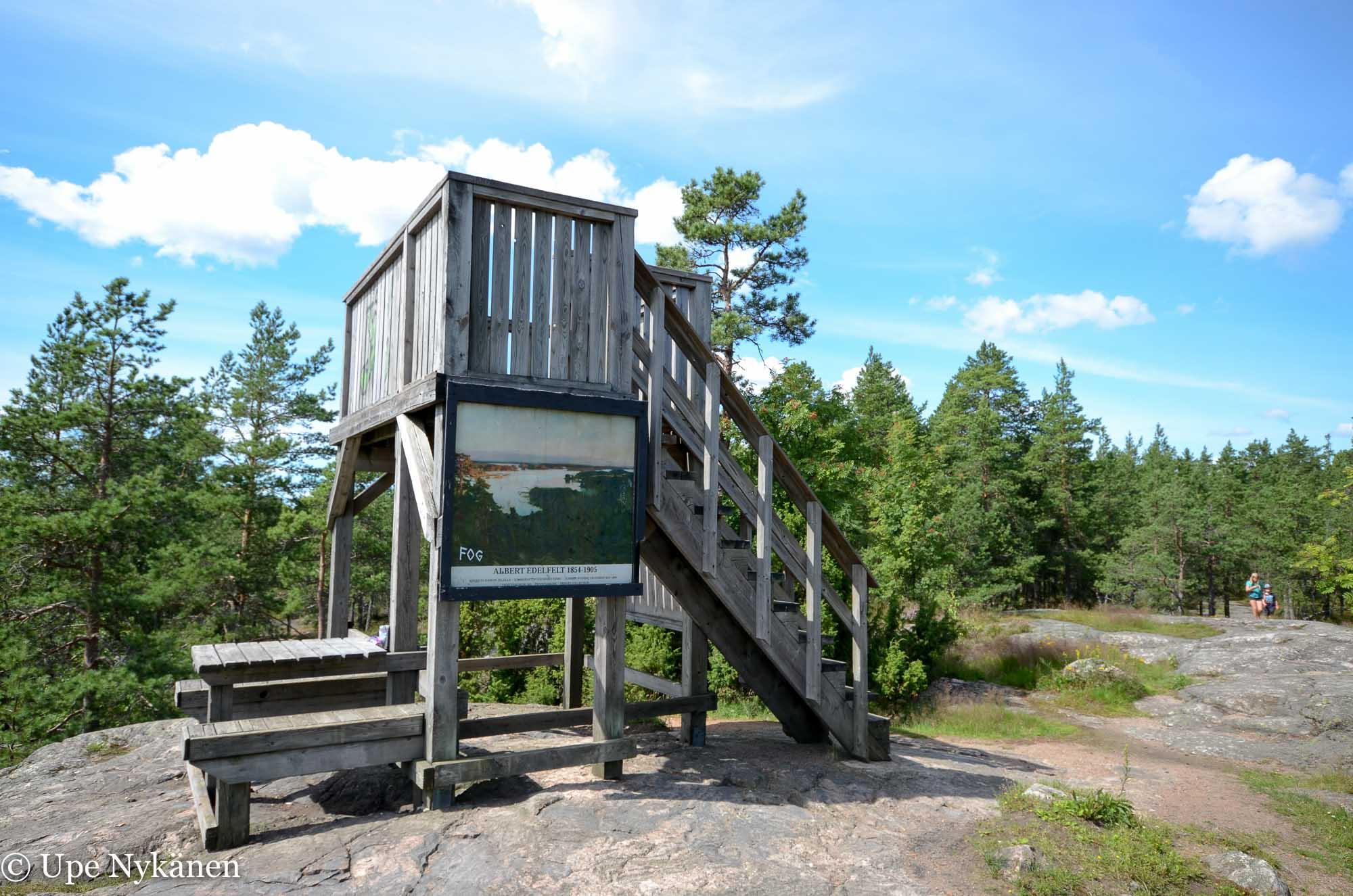 Lennätinvuoren näkötorni, Porvoo