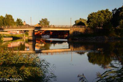 Vanha silta Porvoonjoen yli