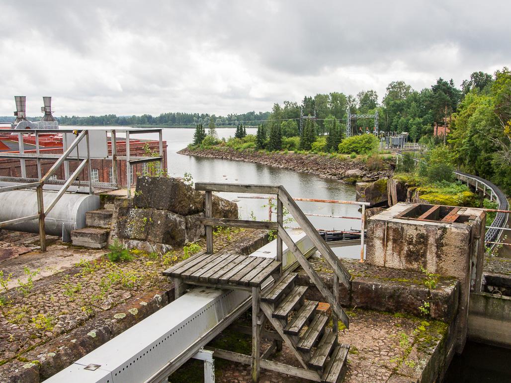 Anjalan patosilta ja Ankkapurhan teollisuusmuseo