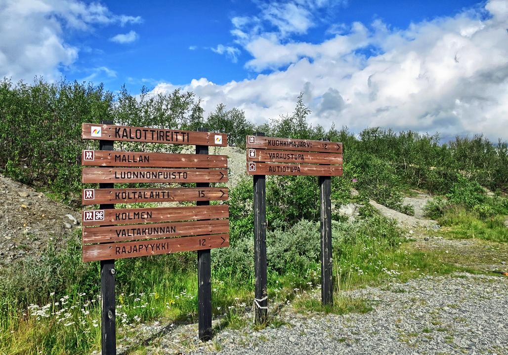 Reittiopasteet Mallan luonnonpuistoon