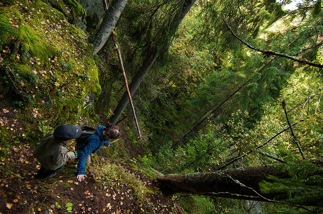 Jännitys ja seikkailuhenki maustavat retken kuin retken.