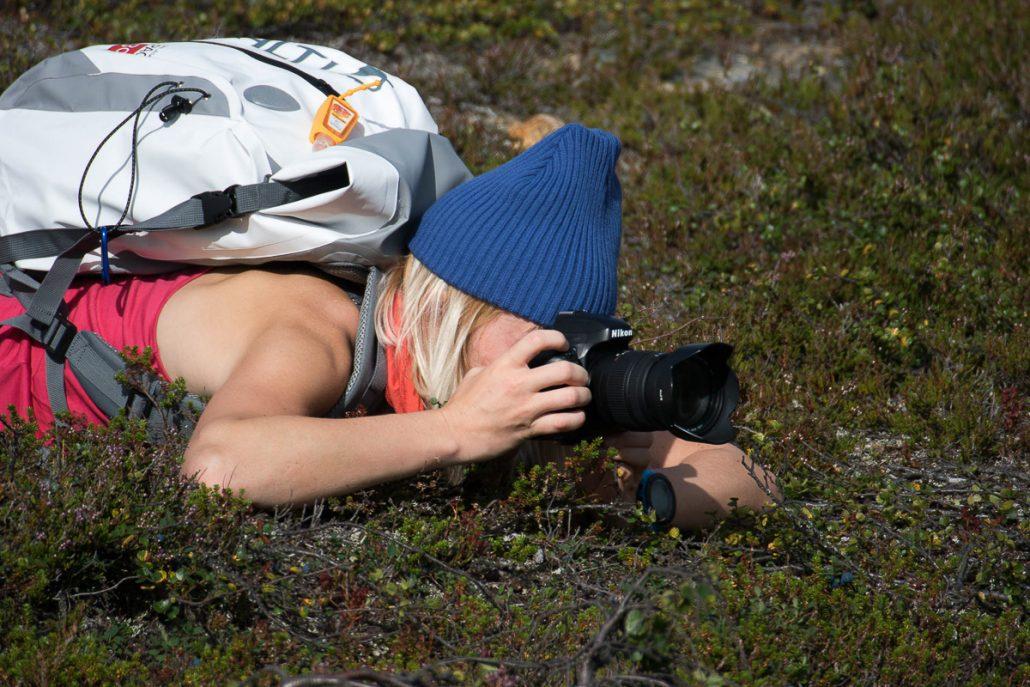 Kameran takana. Kuva: Markku Vihava