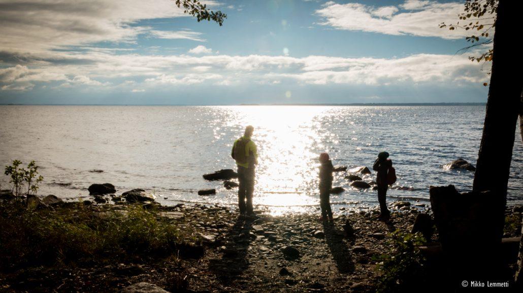 Ihan kuin meren rannalla – Joensuun Kuhasalo yllätti retkeilijän | Retkipaikka