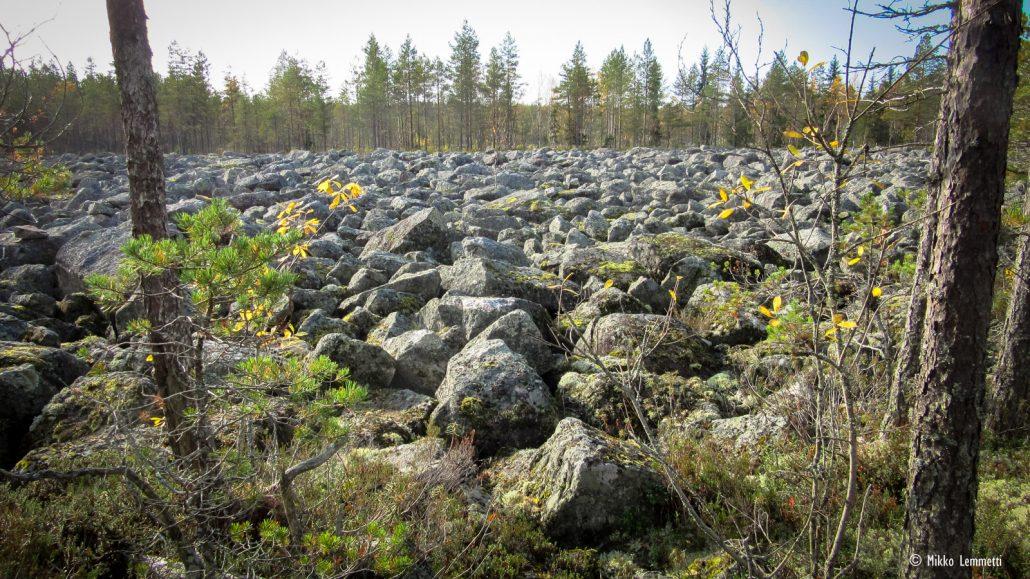 Ihan tällaisessa kivikossa ei kuitenkaan kuljettu Haixeillakaan.