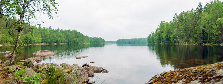 Näkymä Kurkijärvelle