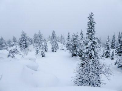 Luminen Romevaaran maisema