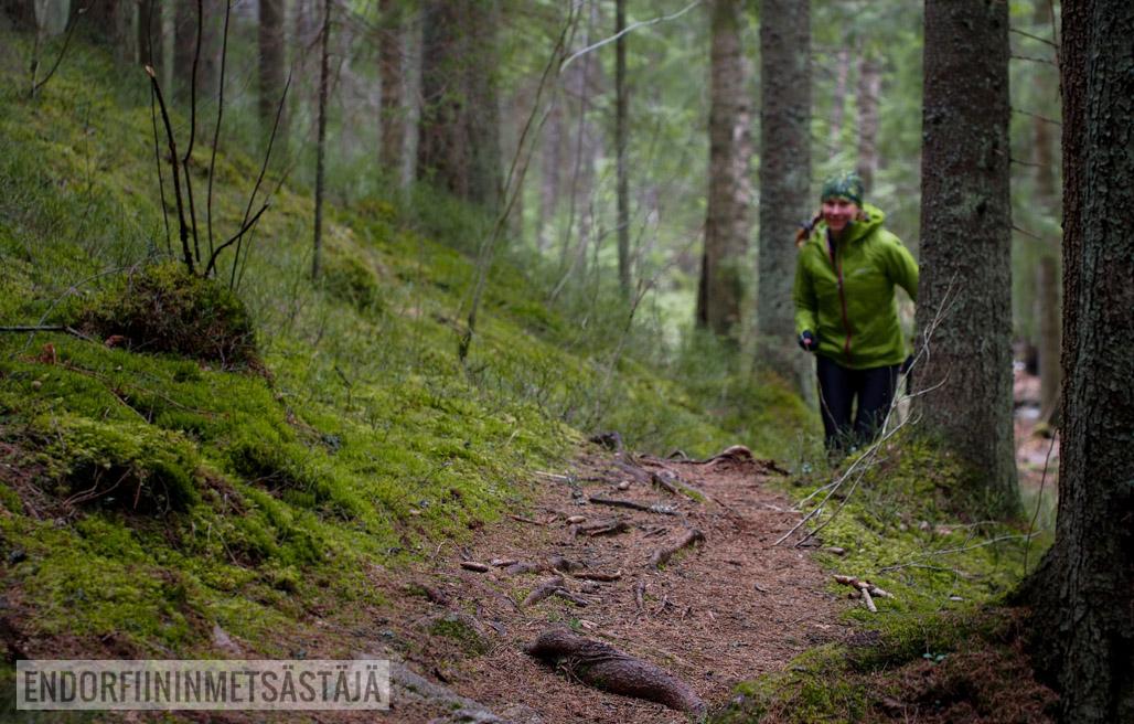 Vinkkejä polkujuoksijalle Kuva: Terhi Jaakkola, Endorfiininmetsästäjä