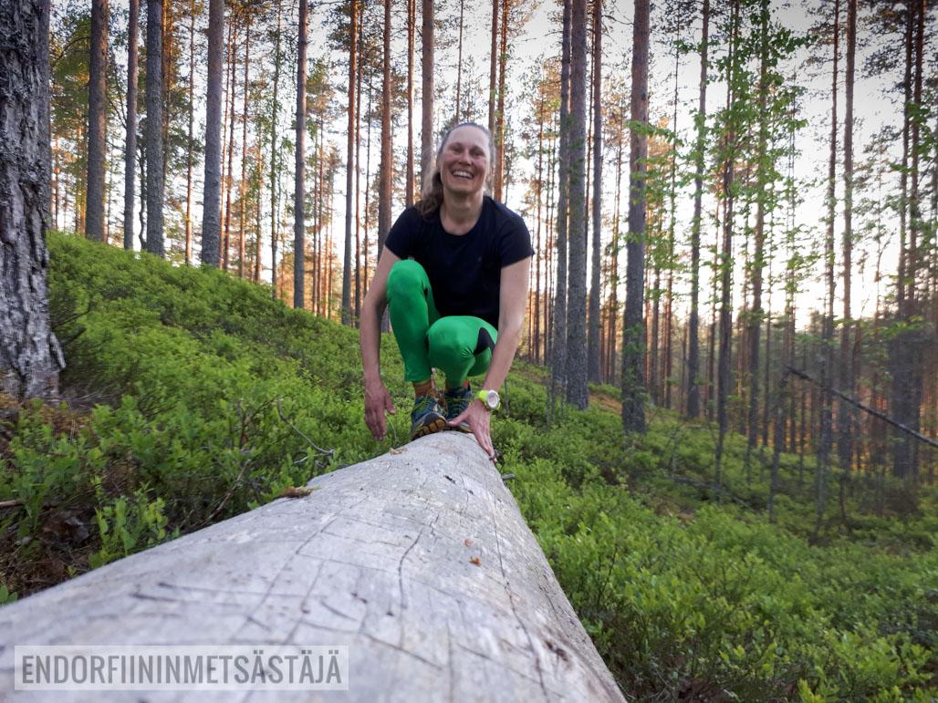 Polkujuoksu vaatii tasapainoa Kuva: Tom Toivonen