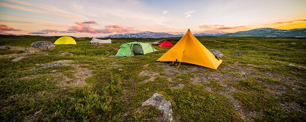 Melomassa Ruotsin Vuoristossa Hemavan On Retkeilijan Paratiisi