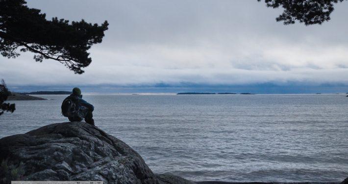 Uutelan ulkoilualueen uimarannalla Kuva: Terhi Jaakkola