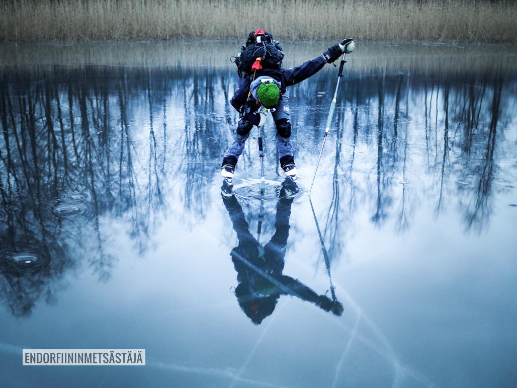 Retkiluistelu Kuva: Tom Toivonen