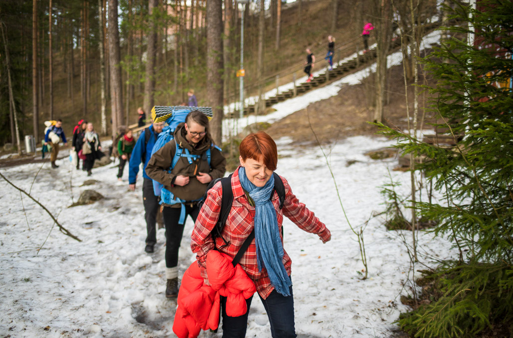 Ulkoilmahotelli - Jyväskylä Kuva: Heikki Sulander / Rinkkaputki.com
