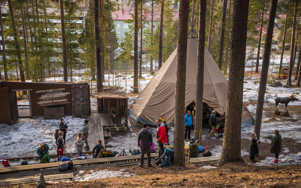 Harjuhotelli Kuva: Heikki Sulander / Rinkkaputki.com
