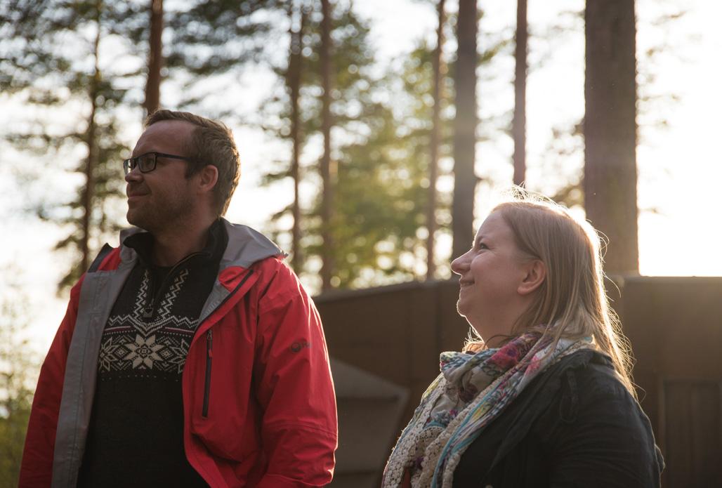 Ulkoilmahotelli Jyväskylän Harjulla Kuva: Heikki Sulander / Rinkkaputki.com