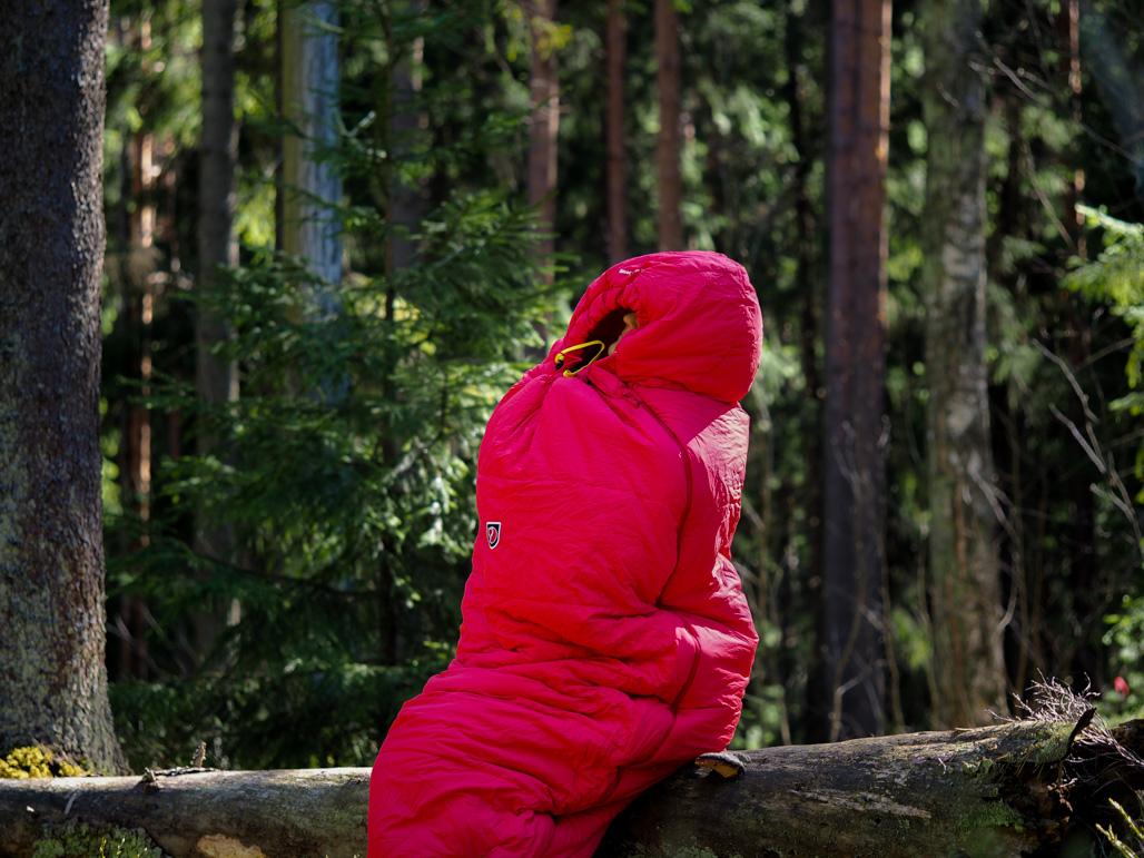 Miten löytää oikea makuupussi? Kuva Terhi Jaakkola