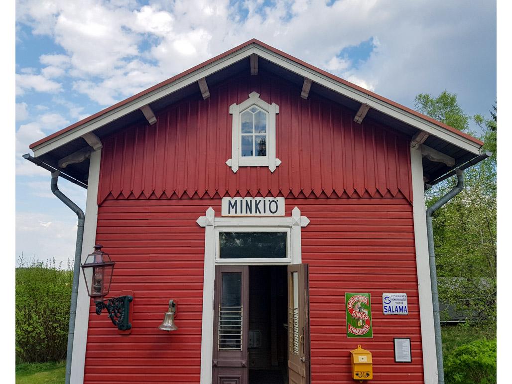 Resiinaretkellä Jokioisten Museorautatiellä Kuva Terhi Jaakkola