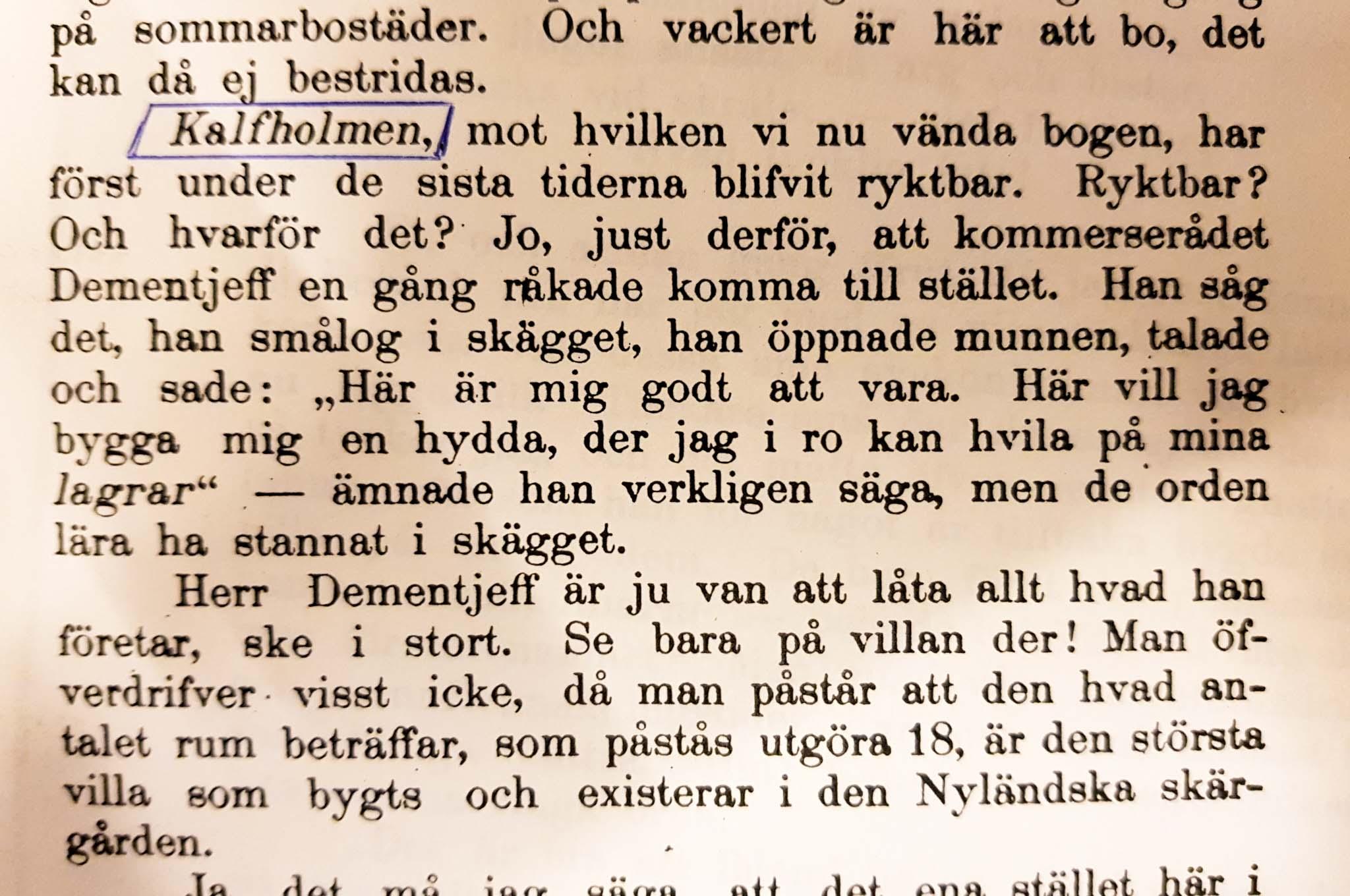 Iso Vasikkasaari Espoo