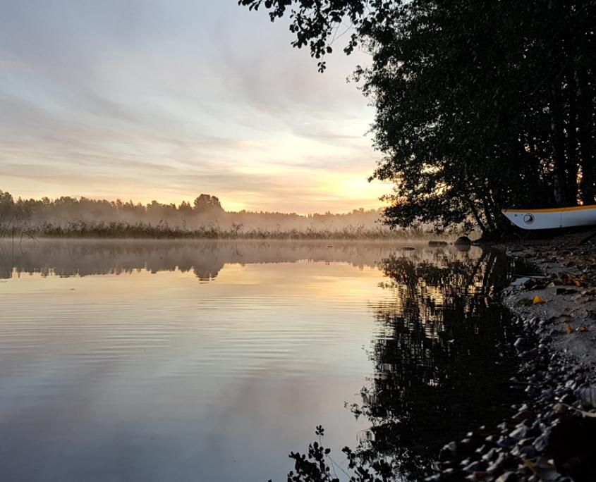 Konnevesi-Laukaa melonta Kuva Terhi Jaakkola