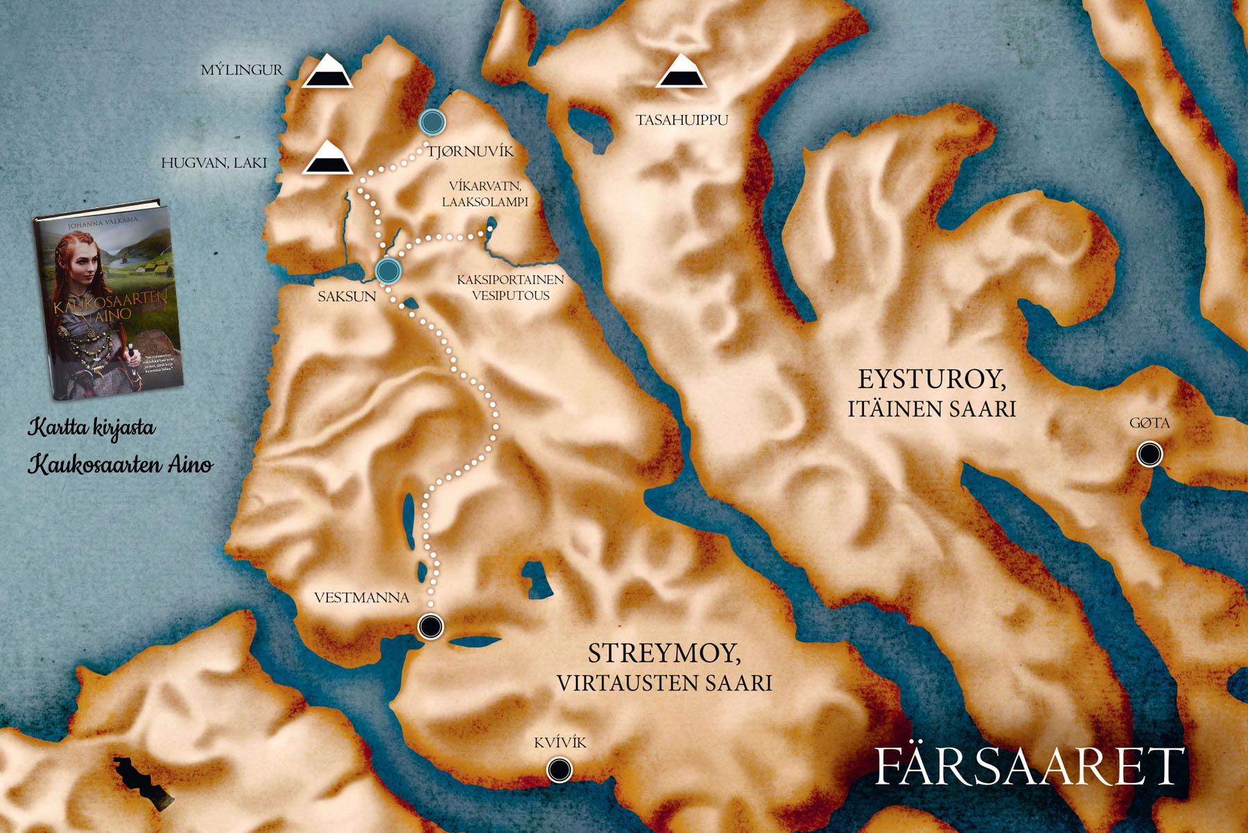 Farsaaret Kartta Retkipaikka