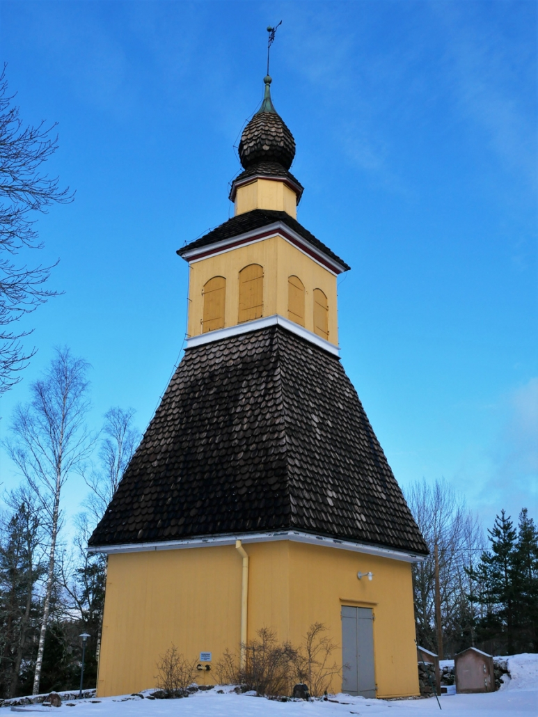 Raasepori Snappertunan kirkon kellotorni