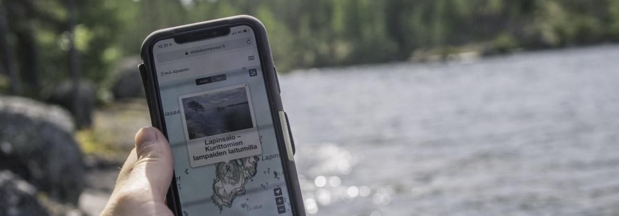Retkipaikan Uusi Matkailukartta Kokoaa Retkikohteet Ja Palvelut