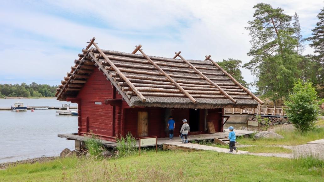Saaristomuseo Pentalan ranta-aitta