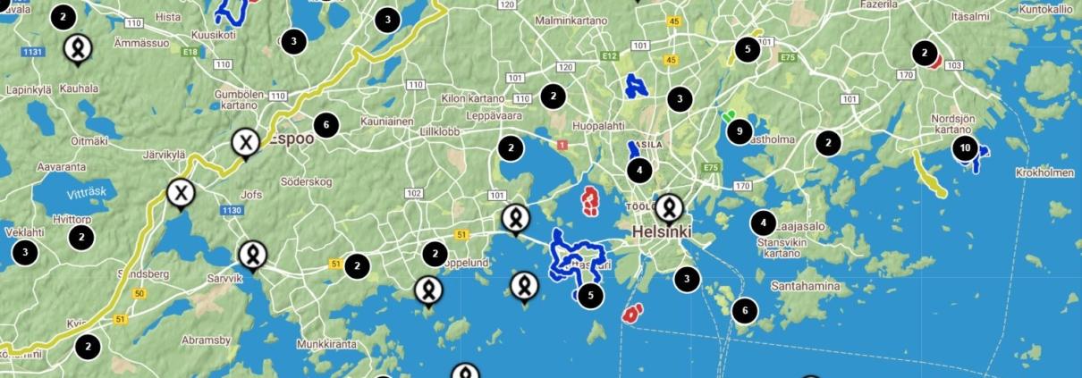 Kartta Retkipaikka