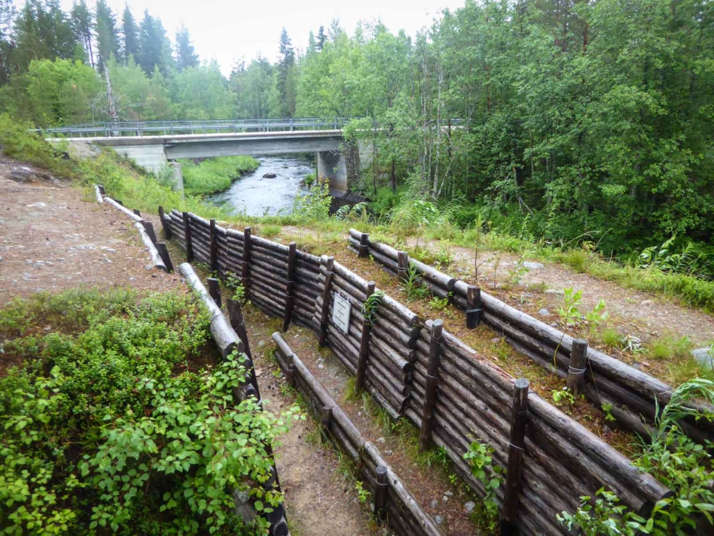 Purajoen puolustusasema, Suomussalmi.