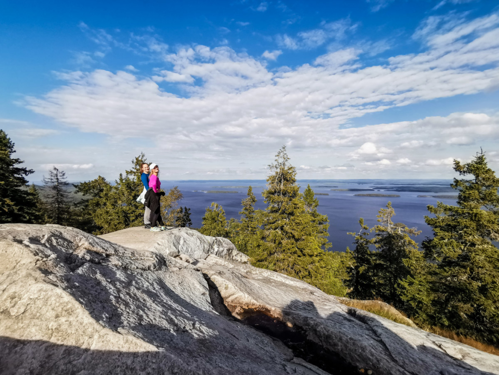 Kolin huippujen kierros Pohjois-Karjala retkeilyhelmet Kuva: Terhi Ilosaari