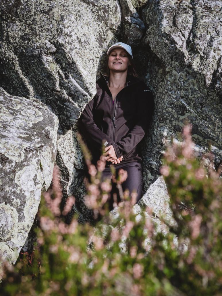 Ikivanhojen kallioiden hyminöitä kuuntelemassa Kolilla- Pohjois-Karjala retkeilyhelmet Kuva: Terhi Ilosaari