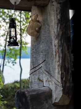 Karhun kynnen jäljet Korvenkodalla Pohjois-Karjalan retkeilyhelmet Kuva: Terhi Ilosaari