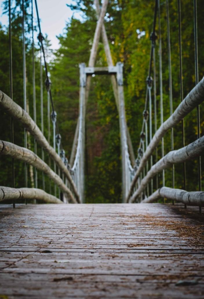Ruunaa Haapavitjan ylittävä silta Kuva: Terhi Ilosaari