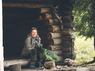 Ruunaa -Korpiniemen laavulla Kuva: Terhi Ilosaari