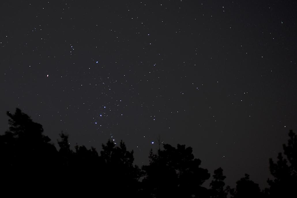Tähtitaivas Soukan yllä